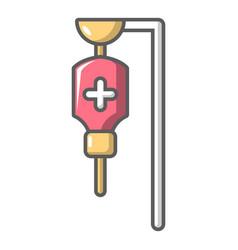 Drop counter icon cartoon style vector