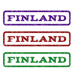 Finland watermark stamp vector