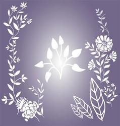 Flower Floral background vector image