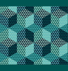 geometry motif in luxury style seamless pattern vector image vector image