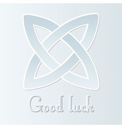 good luck vector image