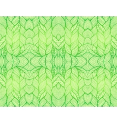 Green abstract seamless pattern vector image