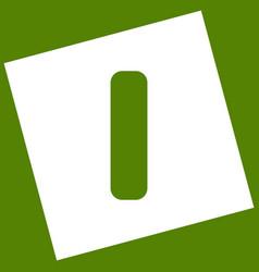 Letter i sign design template element vector
