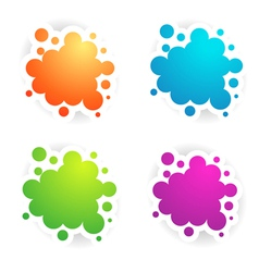 Colors copyspace designs vector