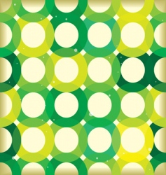 Circle link green background vector