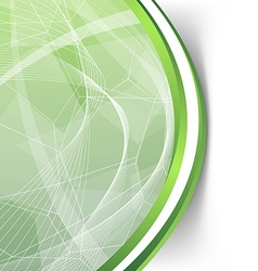 Green crystal structure hipster folder abstraction vector