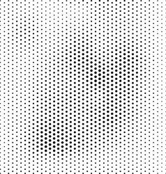 Halftone dotted abstract background vector