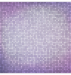 Abstract shiny background with tiny squares vector