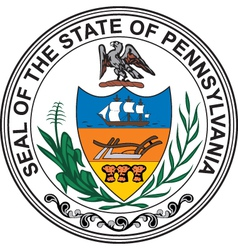 Pennsylvania seal vector