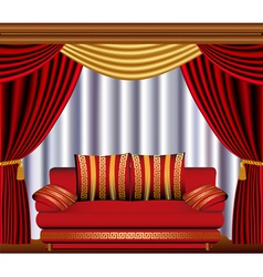 Theatre Lounge vector image