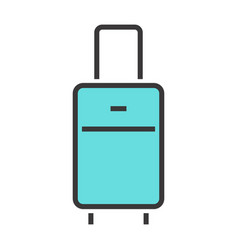 a luggage vector image