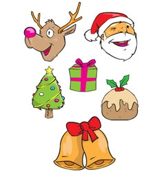 Christmas images vector