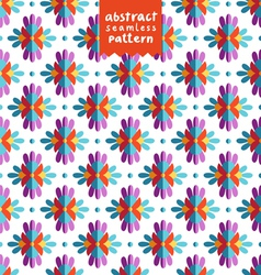 Colorful ethnic abstract pattern vector image vector image