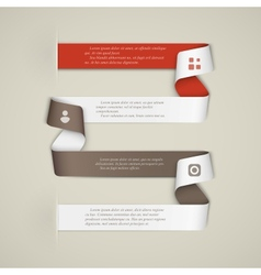 Creative infographics template vector image vector image