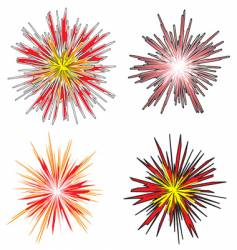explosion vector image