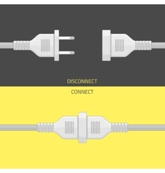 Plug connect vector