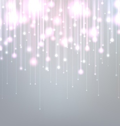 Silver christmas background vector