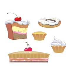 sweets vector image