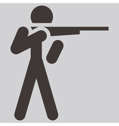 2266 shooting icon vector