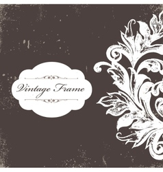 Vintage watercolor background vector
