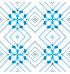 Abstract nordic blue winter light seamless vector