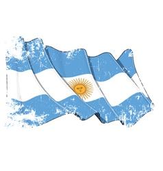 Grange flag of argentina vector