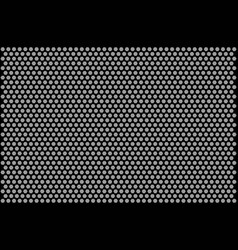 Honeycomb monochrome pattern vector