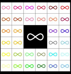 Limitless symbol felt-pen 33 vector