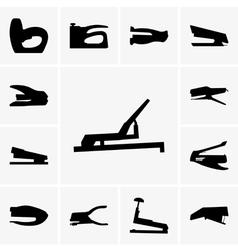 Staplers vector image vector image