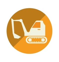 machinery construction design isolated vector image