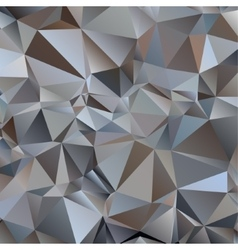 Gray triangle abstract background vector