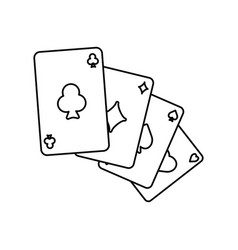 casino and gambling vector image vector image