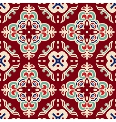 Christmas seamless pattern tiled vector