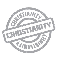 Christianity rubber stamp vector