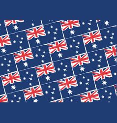 Abstract australian flag or banner vector