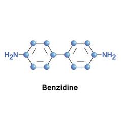 Benzidine or biphenyl diamine vector
