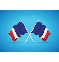 france flag vector image vector image