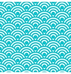 Seamless pattern japanese vector