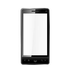 Touchscreen phone vector image vector image