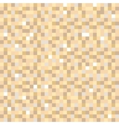 Digital pixel brown seamless pattern background vector