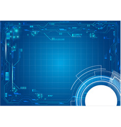 background server technology vector image