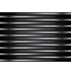 Black metallic striped design vector