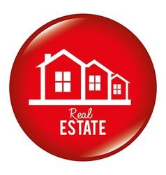 Real estate design vector image vector image