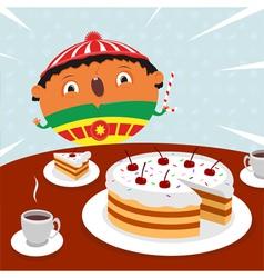 Surprise birthday vector image vector image