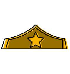 Warrior women crown vector
