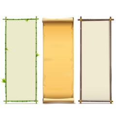 Boards Set 8 vector image