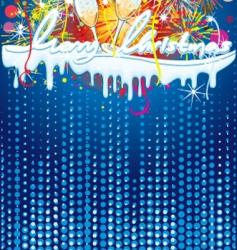 festive backdrop vector image