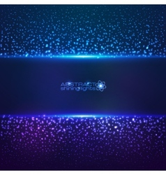 Blue cosmic star dust abctract background vector