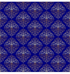 Seamless pattern with flourishes calligraphic vector image