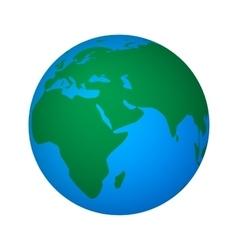 abstract global world vector image vector image